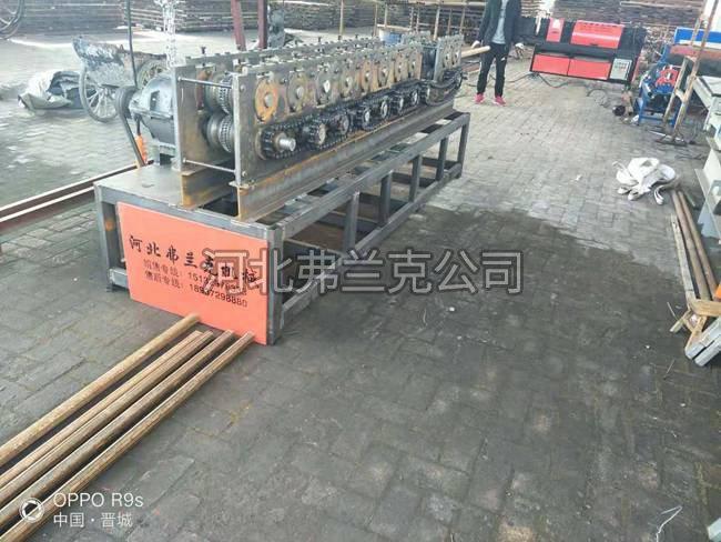 山西晋城送货   到达晋城  送调直机暴力检测圆管压方机   三